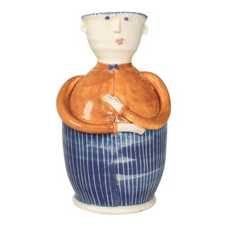 Figurative Pottery Vase For Sale
