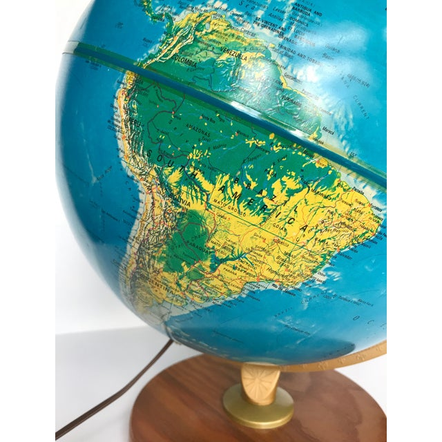 Late 20th Century Vintage Late 20th Century Globe Light For Sale - Image 5 of 10
