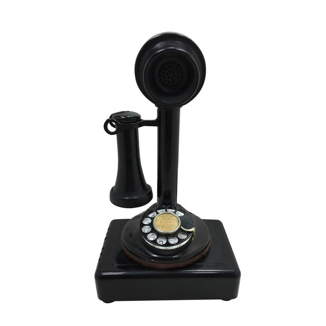Western Electric Candlestick Rotary Dial Telephone - Image 1 of 11