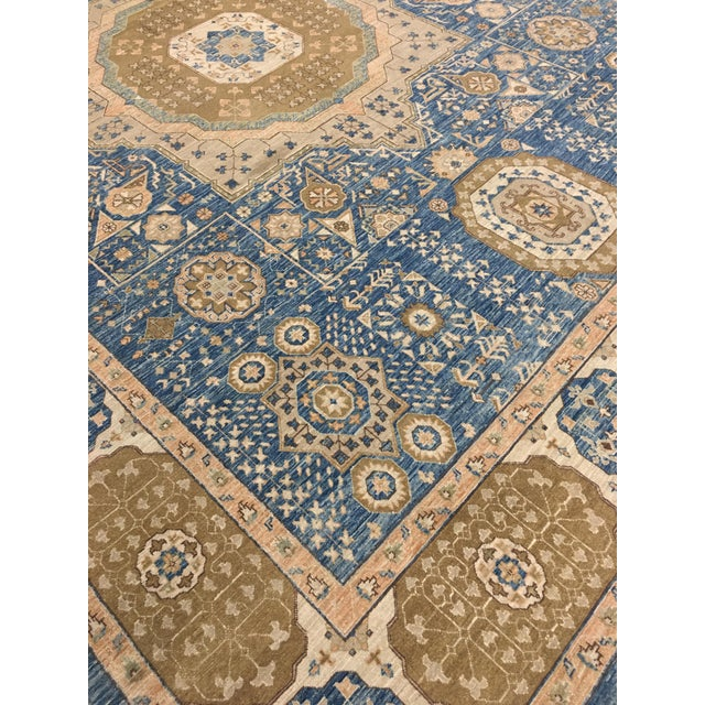 A Mamluk rug is a perfect way of bringing a classic and elegant look to your room. They are characterized by a central...