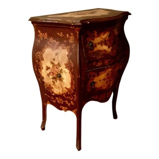 Venetian Bombe Chest of Drawers For Sale