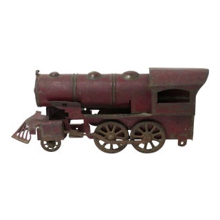 1910 Antique Tin Locomotive Toy For Sale
