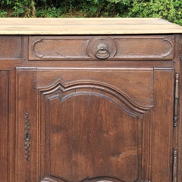 Metal Early 19th Century French Provincial Buffet For Sale - Image 7 of 13