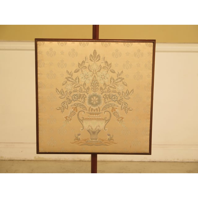 Kittinger CW-92 Colonial Williamsburg Mahogany Fire Screen - Image 3 of 11