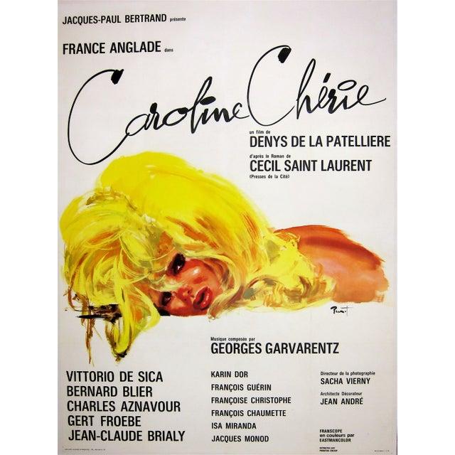 """Caroline Cherie"" 1968 French Film Poster For Sale"