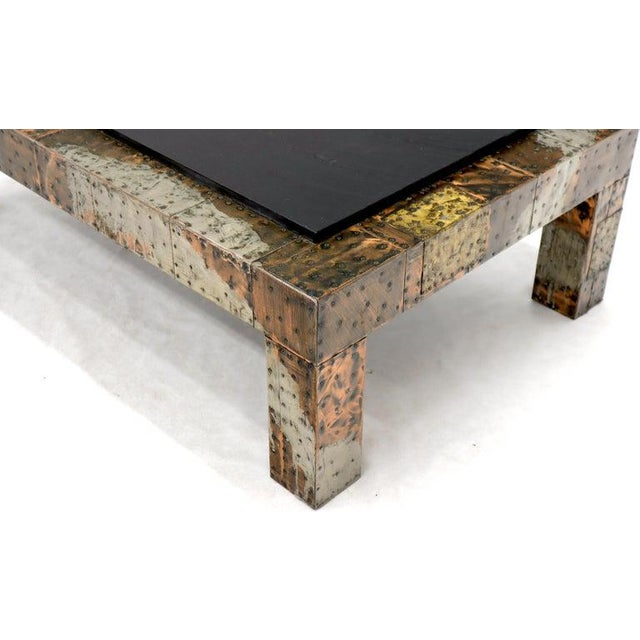 Paul Evans Mid-Century Modern Rectangular Coffee Table With Slate Top For Sale - Image 11 of 12