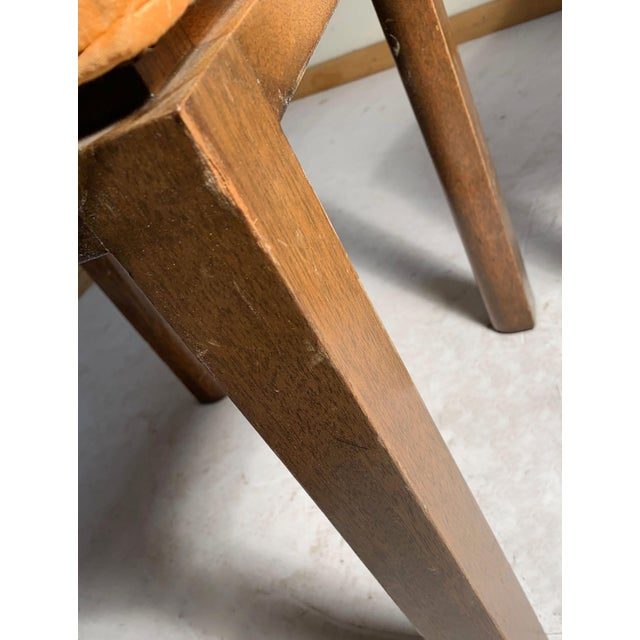 Mid-Century Modern Pair of Vintage Midcentury Harvey Probber Parsons Cube Stools For Sale - Image 3 of 5