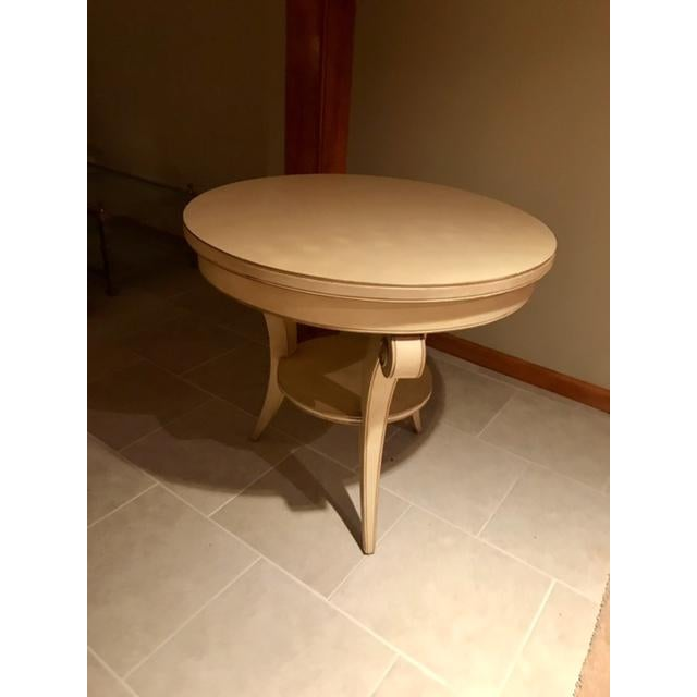 Transitional Round Accent Table - Image 4 of 6