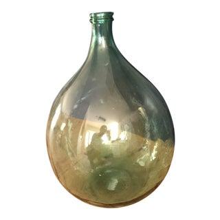 Antique Italian Demijohn Bottle For Sale