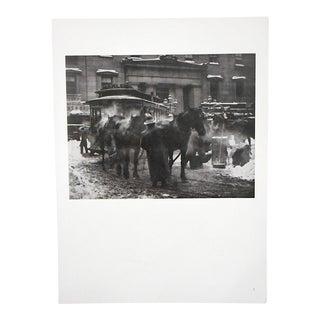 "Ltd. Ed. Vintage Photograph By Alfred Stieglitz (USA 1864-1946)-""The Terminal"""