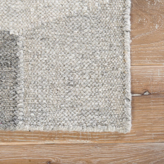 Contemporary Jaipur Living Vista Indoor/ Outdoor Geometric Gray Area Rug - 8′ × 10′ For Sale - Image 3 of 6