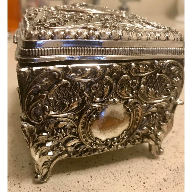 Beautiful handmade Chinese Silver (Name given to this piece although it appears to be a sterling silver plate)...