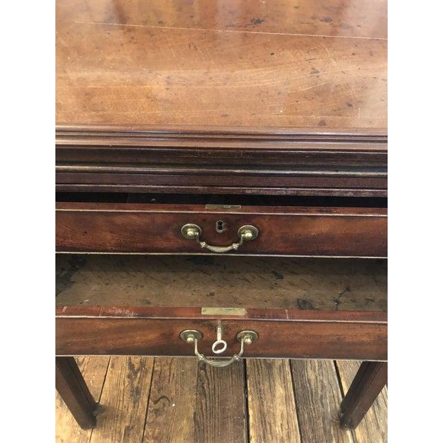 Rare 19th Century Mahogany Mechanical Architect's Desk For Sale - Image 9 of 13