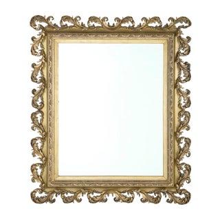 Mid 19th Century Massive Baroque Style Mirror For Sale