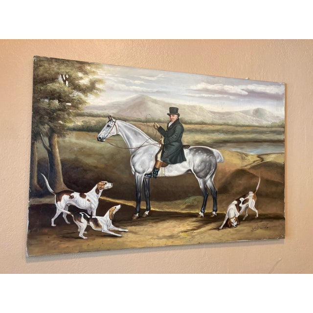 """The French Sheep Herder"" oil on canvass painting signed by artist Guy Woods. Dimensions"