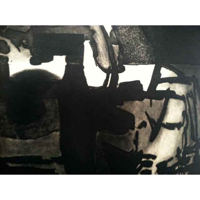 1960s Modernist Abstract Print - Image 7 of 7