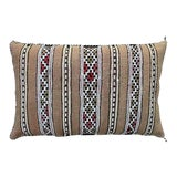 Image of Striped Moroccan Berber Pillow For Sale