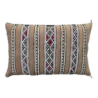 Striped Moroccan Berber Pillow For Sale