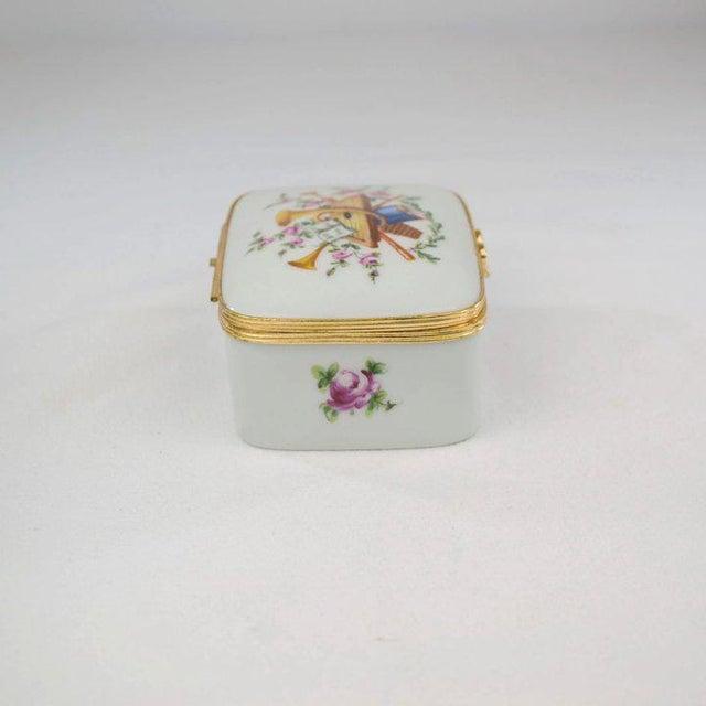 Metal Atelier LeTallec Porcelain Box For Sale - Image 7 of 10