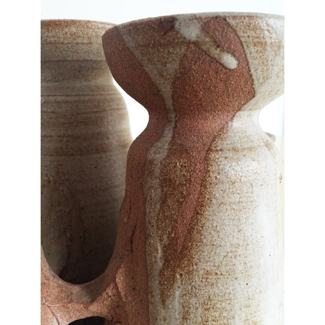 Mid-Century Studio Pottery Candle Holder - Image 9 of 10