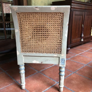 French Cane Settee Preview