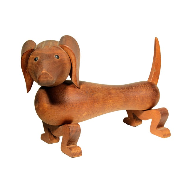 Kay Bojesen Wooden Toy Dachsund For Sale