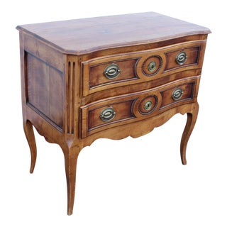 20th Century Louis XV Cherry Wood Chest For Sale