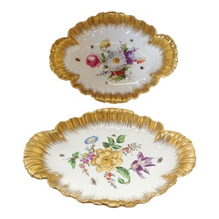 Pair of German Serving Dishes For Sale