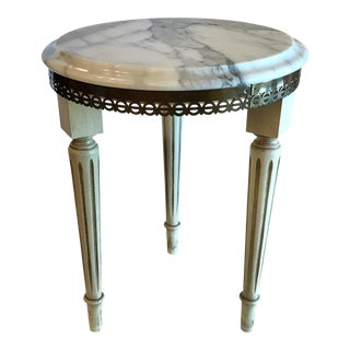 Italian Neoclassical Marble Top Table