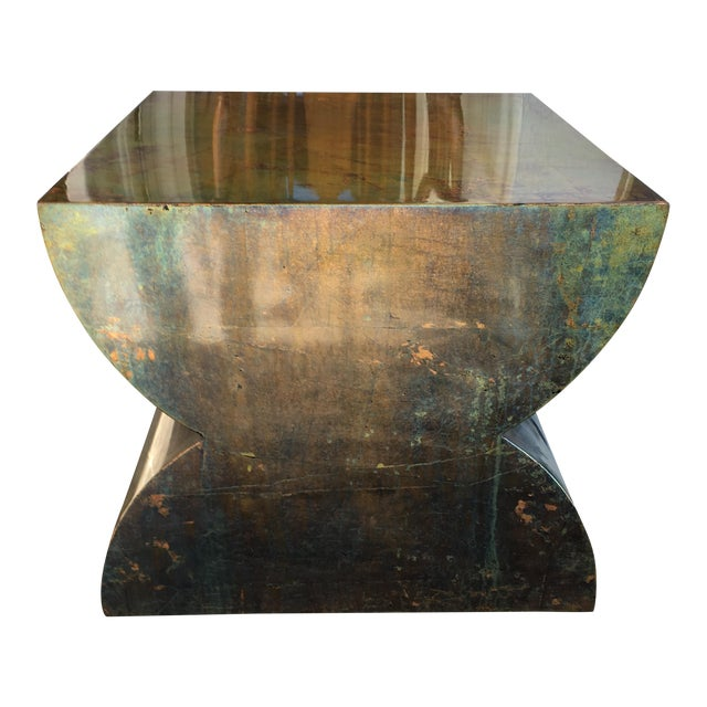 Luminescent Custom Bronze Occasional Table - Image 1 of 7