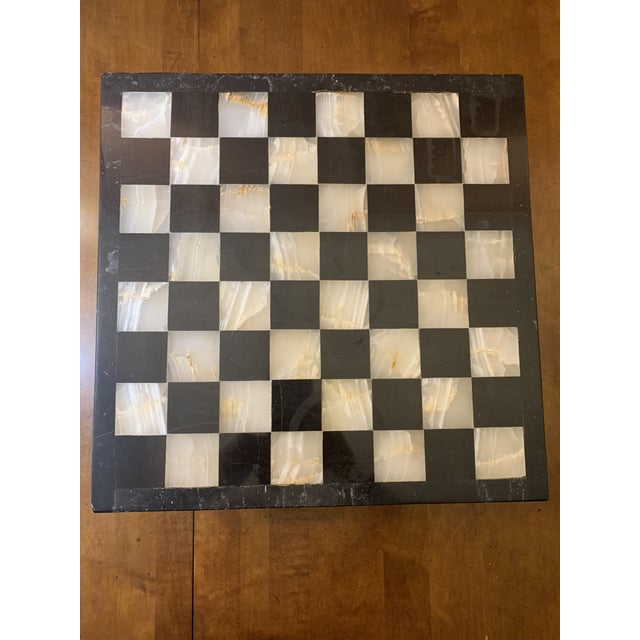 Marble 1970s Vintage Hand Carved Quartz/Marble Complete Chess Set - 32 Pieces For Sale - Image 7 of 13