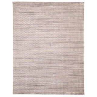 Modern Scandinavian Style Area Rug - 9′1″ × 11′9″ For Sale