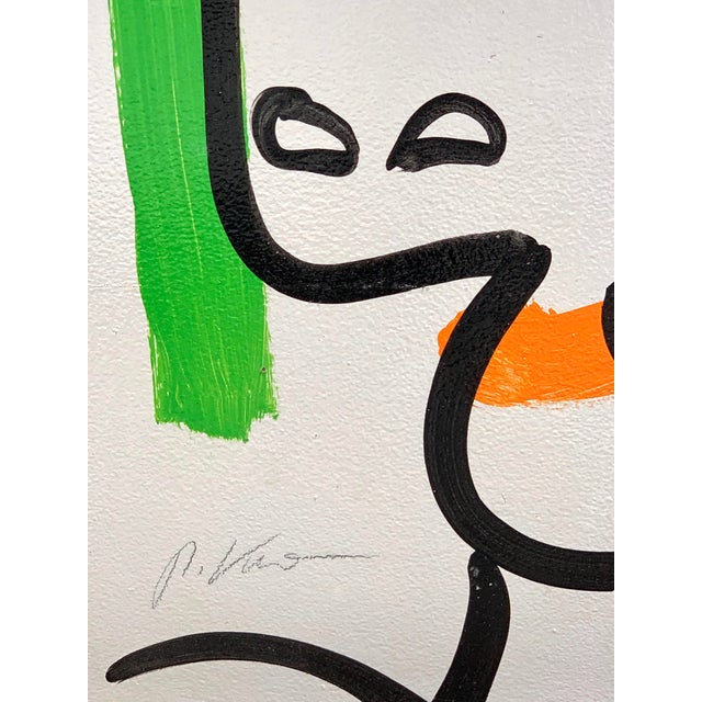 Abstract Peter Keil, Portrait of a Woman For Sale - Image 3 of 10