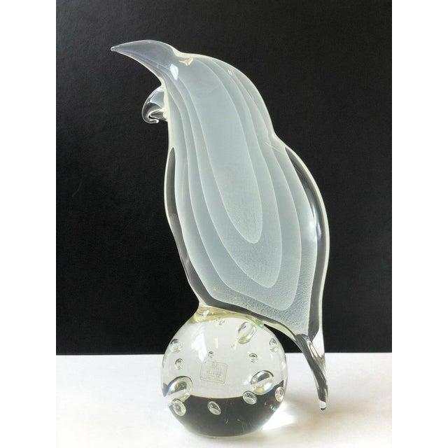Italian Murano Glass Bird by Licio Zanetti For Sale - Image 10 of 12