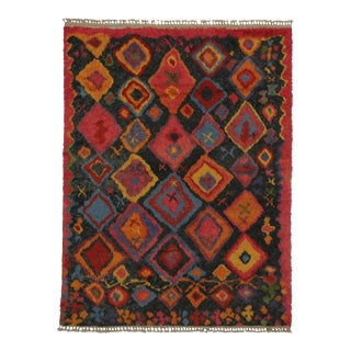 New Contemporary Tulu Shag Area Rug With Tribal Style For Sale