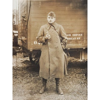 1918 Serviceman American Expeditionary Force Photograph Air Service For Sale
