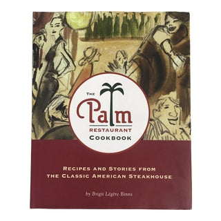 "2003 ""The Palm Restaurant Cookbook"" First Edition Book For Sale"