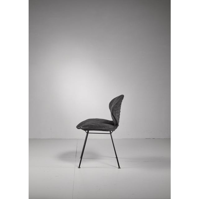 Mid-Century Modern Gastone Rinaldi side chair for Rima, Italy, 1950s For Sale - Image 3 of 6