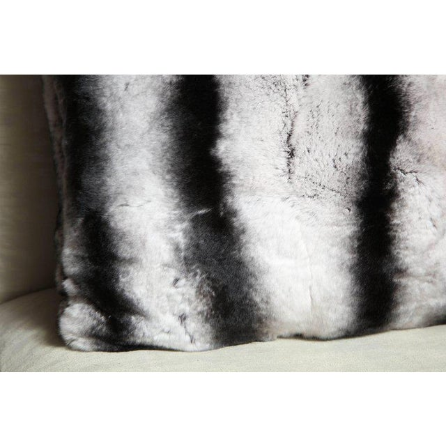 Modern Custom Rex Rabbit Pillow For Sale - Image 3 of 6