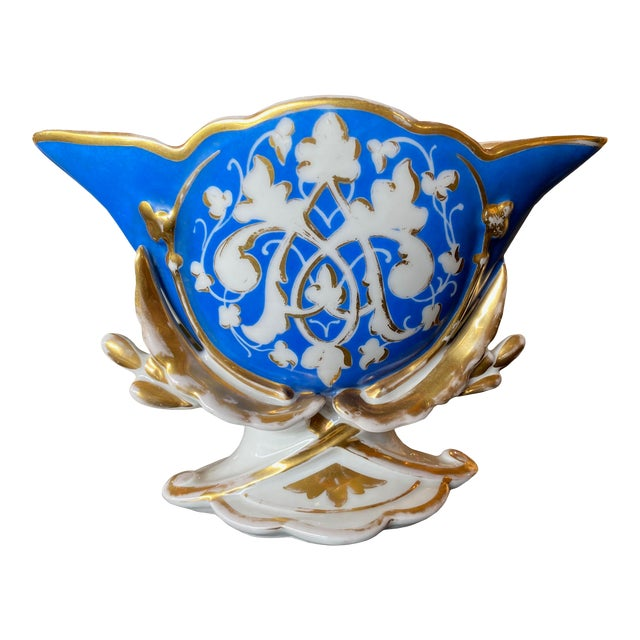 19th Century Old Paris Porcelain Vase For Sale