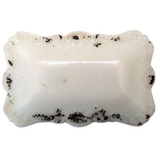 Milk Glass Trinket Box For Sale