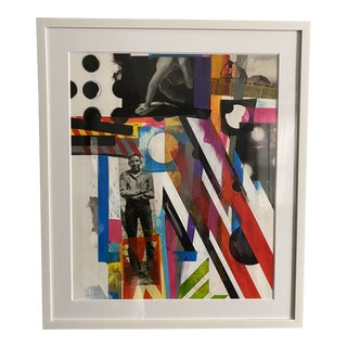 """Burn On"" Collage by Artist Charles Wilkin For Sale"
