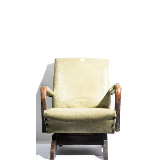 American 1930s Nursery Child Size Rocking Chair For Sale - Image 3 of 6