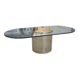 1970s Paul Mayen for Habitat Oval Coffee Table For Sale