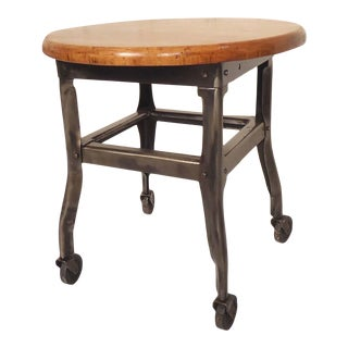 Small Industrial Stool For Sale