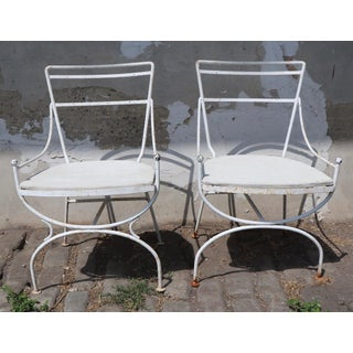 2 Neoclassic Form Garden Chairs Preview