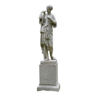 Stoneware Figure of Diana For Sale