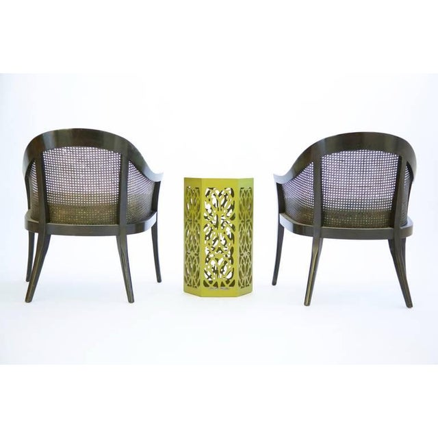 Green Set of Harvey Probber Pull-Up Chairs For Sale - Image 8 of 11