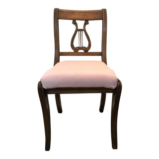 1940s Vintage Lyre Side Chair For Sale
