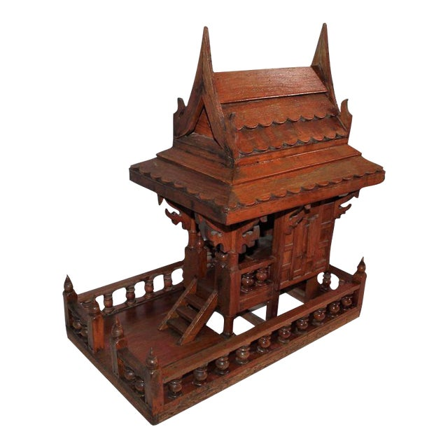 Arts & Crafts Folk Art Thai Style Boat House For Sale